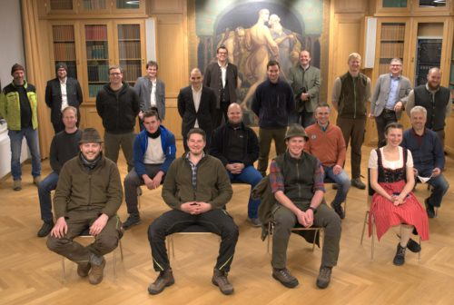 Facharbeiter Forstwirtschaft - Kursgruppe Traunkirchen